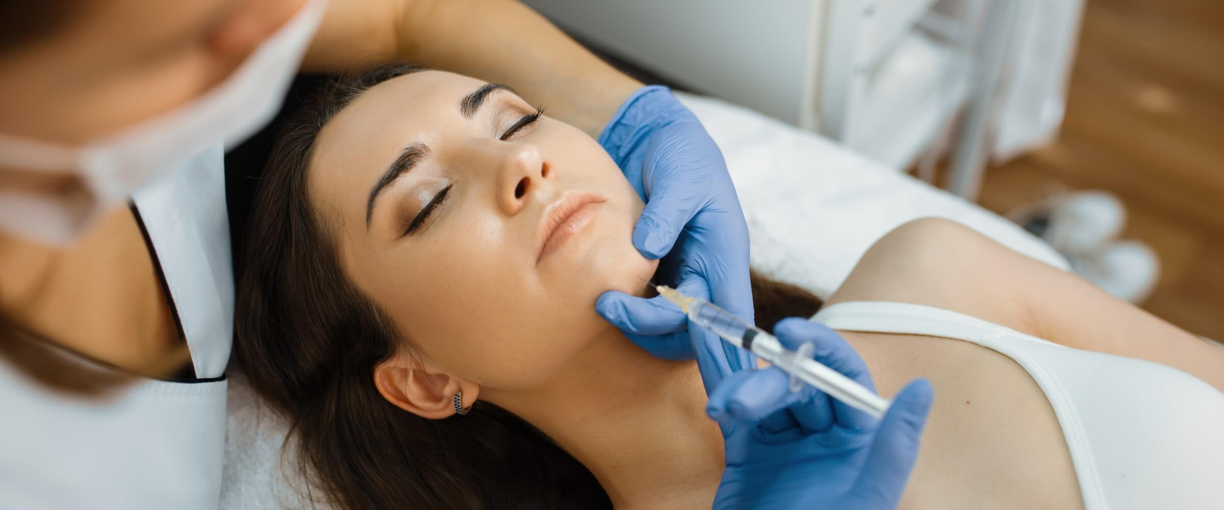 cosmetic injections in chin